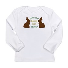 Official Bunny Ear Taster Long Sleeve Infant T-Shi