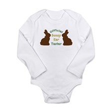 Official Bunny Ear Taster Long Sleeve Infant Bodys