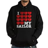 I Love My Sailor  Hoodie