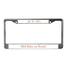 ATB-All Terrain Baby License Plate Frame