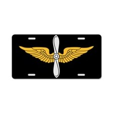 Aviation Branch License Plate
