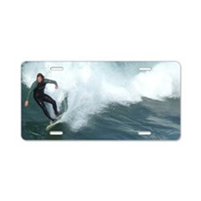 Surfer Paradise Aluminum License Plate