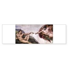 Creation of Adam Bumper Sticker