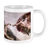 Creation of Adam Coffee Mug