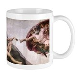 Creation of Adam Small Mug
