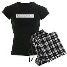 Future yarnaholic Women's Dark Pajamas