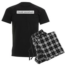 Future yarnaholic Men's Dark Pajamas