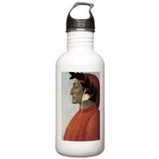Portrait of Dante Water Bottle