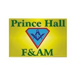 Masonic Prince Hall Rectangle Magnet (100 pack)