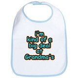 Big Deal At Grandma's Bib