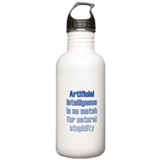 Artificial Intelligence Water Bottle