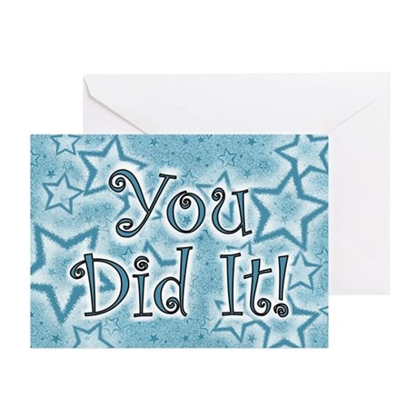 You did it! Greeting Cards (Pk of 10)