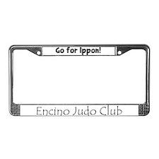 Unique Ippon License Plate Frame