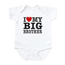 I Love My Big Brother Infant Creeper
