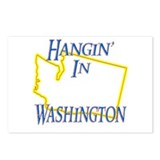 Hangin' in WA Postcards (Package of 8)