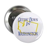"Gettin' Down in WA 2.25"" Button (100 pack)"