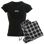 etc. Women's Dark Pajamas