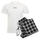 etc. Men's Light Pajamas