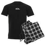 sin. Men's Dark Pajamas