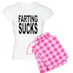 Farting Sucks Women's Light Pajamas