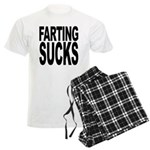 Farting Sucks Men's Light Pajamas