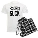Fascists Suck Men's Light Pajamas