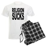 Religion Sucks Men's Light Pajamas