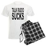 Talk Radio Sucks Men's Light Pajamas