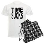 Time Sucks Men's Light Pajamas