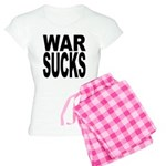 War Sucks Women's Light Pajamas