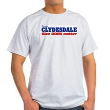 """Team Clydesdale"" Ash Grey T-Shirt"