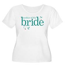 Bride Wedding Swirl T-Shirt