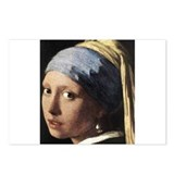 Girl with a Pearl Earring (de Postcards (Package o