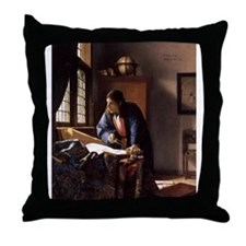 The Geographer Throw Pillow