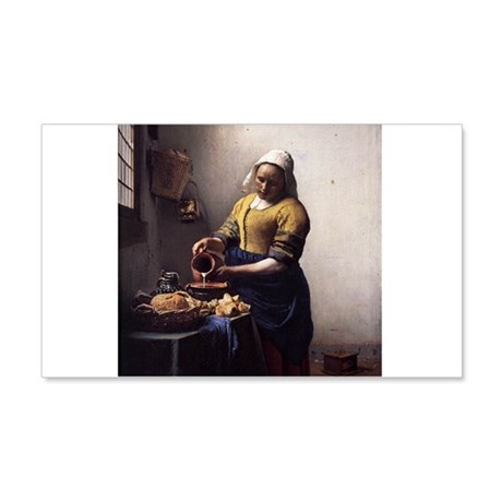 The Milkmaid 22x14 Wall Peel