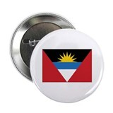 "Antigua Flag 2.25"" Button"