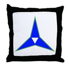 SSI-III CORPS ARTILLERY TEXT Throw Pillow