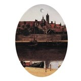 View of Delft (detail) Ornament (Oval)