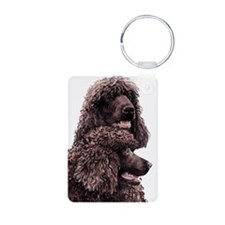 Irish Water Spaniel Keychains