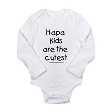 Hapa Kids Long Sleeve Infant Bodysuit