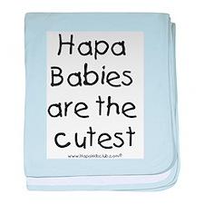 Hapa Babies baby blanket