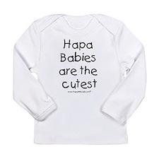 Hapa Babies Long Sleeve Infant T-Shirt