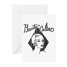 Art Deco Beauty Greeting Cards (Pk of 10)