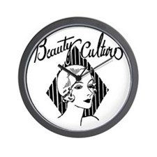 Art Deco Beauty Wall Clock