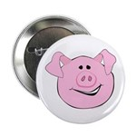 Smiling Pig Face Button