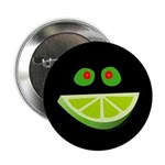 Smiling Olives and Lime Button