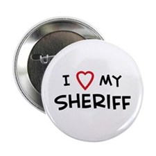 I Love Sheriff Button