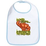 Daddy's Biceps... Snap Bib