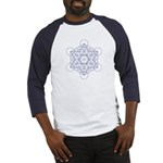 Baseball jersey with Metatron's cube