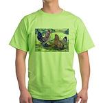 Mille Fleur d'Uccles Green T-Shirt